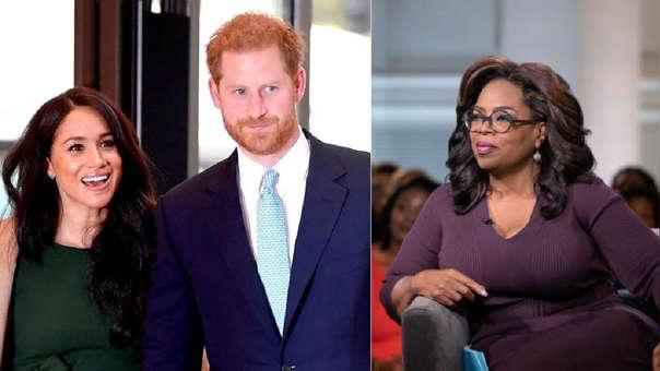 Meghan y Harry preparan serie con Oprah Winfrey