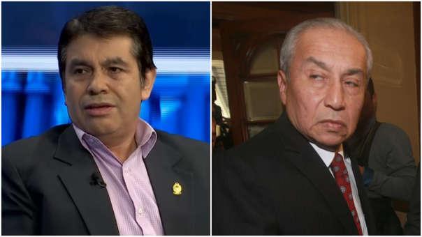 Tomás Galvez y Pedro Chávarry