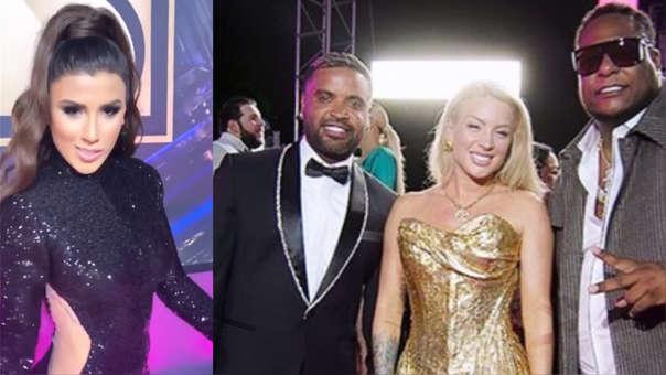 Premios Lo Nuestro 2020 En Vivo Yahaira Plasencia Y Leslie Shaw Desfilaron Por La Alfombra Roja De La Gala En Miami Rpp Noticias