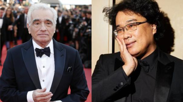 Martin Scorsese a Bong Joon-ho