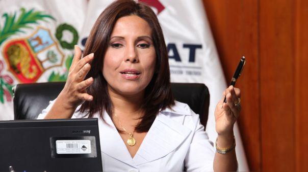 Tania Quispe fue titular de la Sunat.