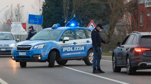 El Ejecutivo italiano aprobó  un decreto ley en el que se prohibía la entrada y la salida de los cerca de 50.000 habitantes de diez municipios del norte del país.