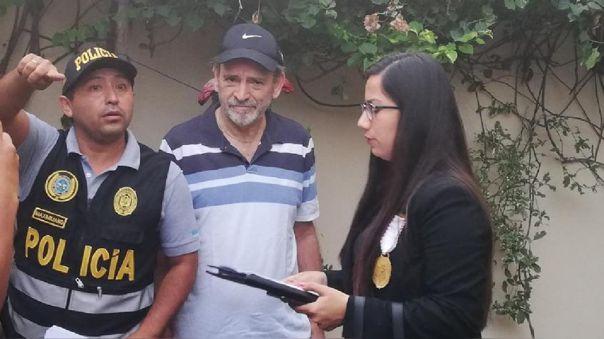 Yehude Simon fue detenido este lunes en su vivienda de Surco.