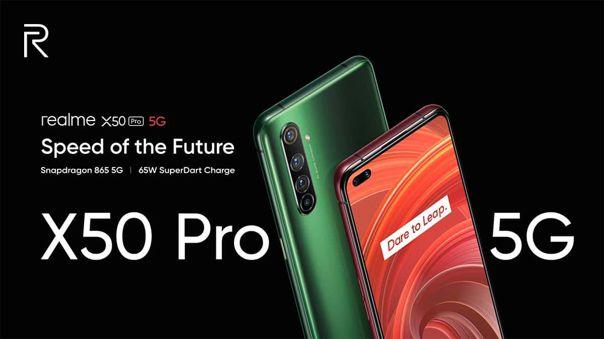 El Realme X50 Pro llega a asaltar la gama alta.