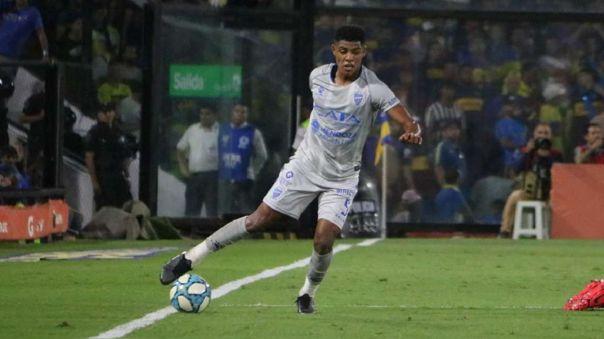 Wilder Cartagena fichó por una temporada con Godoy Cruz de Argentina