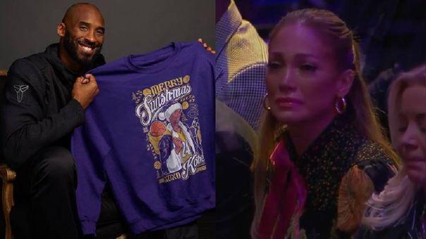 Jennifer Lopez se quiebra en homenaje a Kobe Bryant