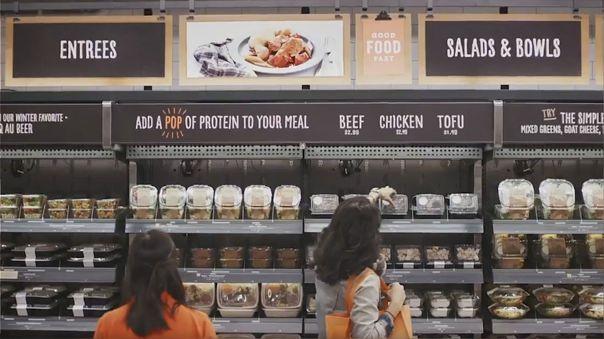 Supermercado sin cajas Amazon