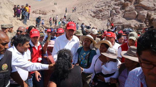 El presidente Vizcarra supervisa las acciones desplegadas en Tacna.