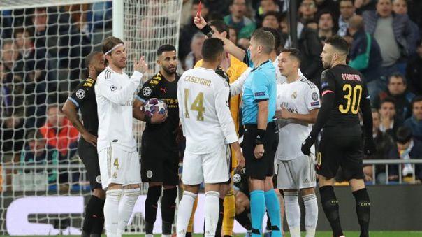 Sergio Ramos tiene 27 expulsiones en toda su trayectoria.