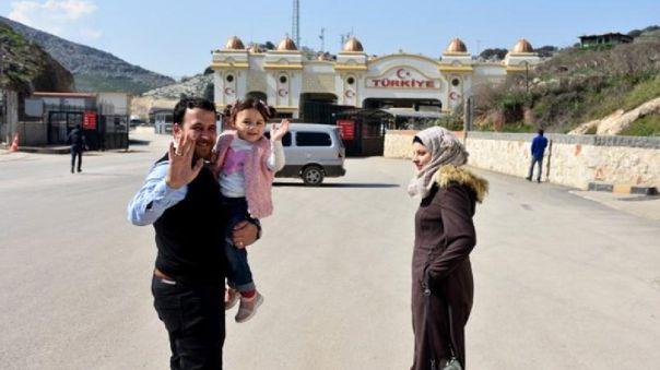Abdalla Mohamed y su familia