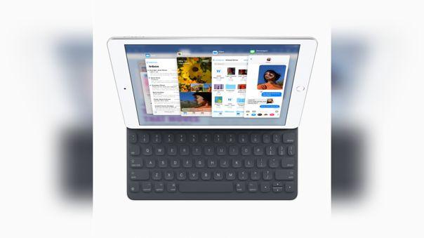 De momento, el iPad solo cuenta con un teclado tradicional