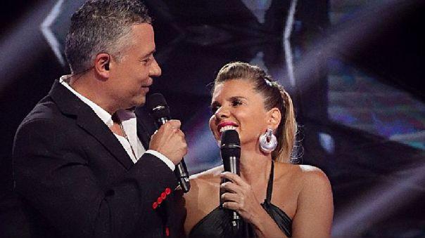 Mathías Brivio y Johanna San Miguel