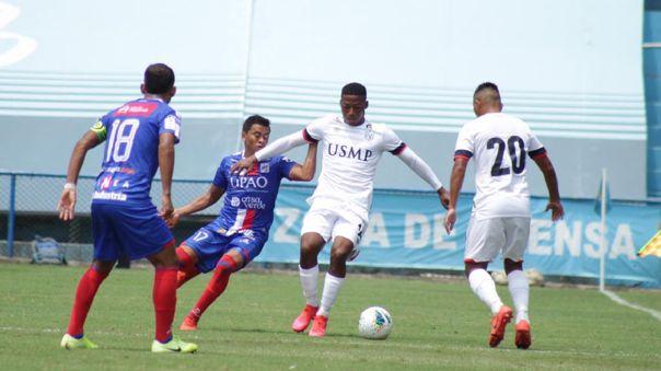 San Martín igualó 2-2 con Carlos A. Mannucci por el Apertura por la Liga 1