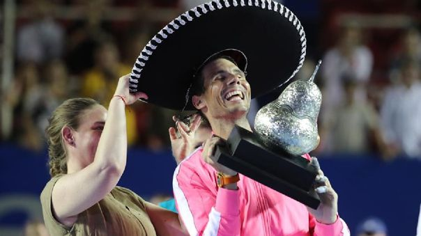 Rafael Nadal, número 2 del mundo, ganó su título número 85 como profesional