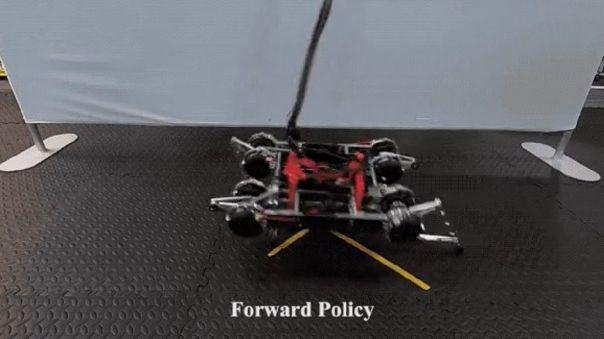 Robot con IA para andar.