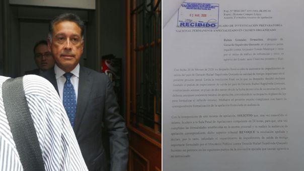 Gerardo Sepúlveda tiene una orden de impedimento de salida.