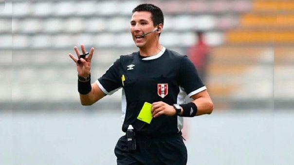 Kevin Ortega será el árbitro del primer clásico del fútbol peruano en el 2020