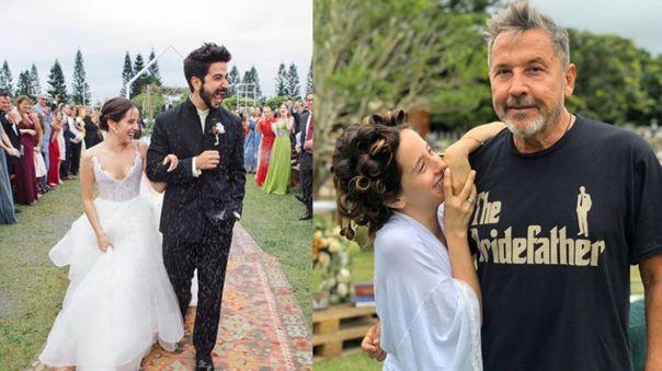 Evaluna, la única hija de Ricardo Montaner, se casó con el músico Camilo Echeverry