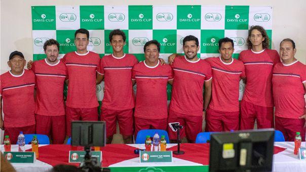 El equipo peruano que enfrentará a Suiza por la Copa Davis