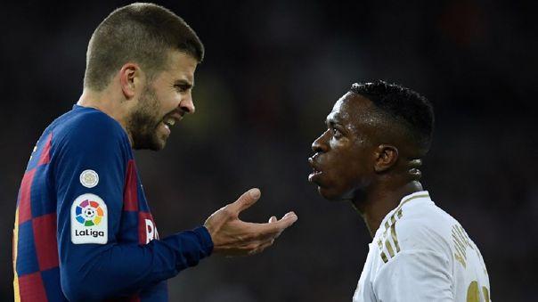 Real Madrid venció al Barcelona en el último clásico español con un gol de Vinicius Jr.