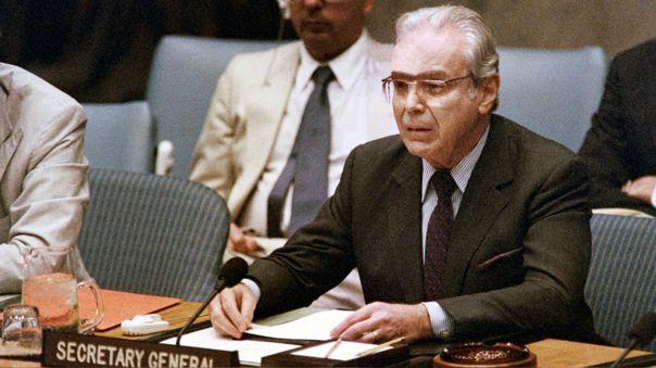 FILES-UNITED NATIONS-PEREZ DE CUELLAR-OBIT