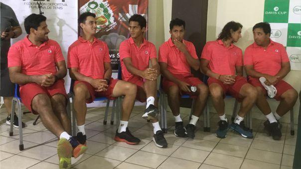 Perú enfrentará el 6 y 7 de marzo a Suiza por los play off del Grupo Mundial I de la Copa Davis