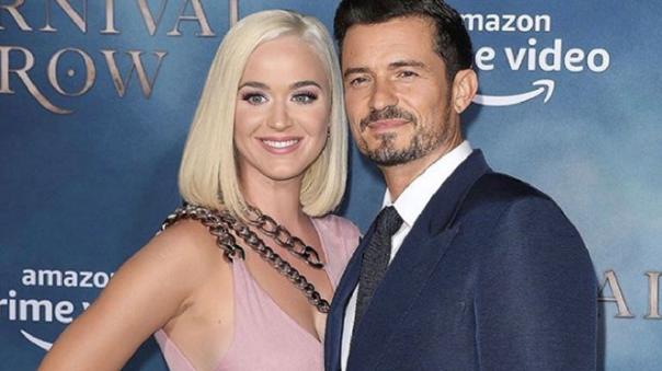 Katy Perry confirmó que está embarazada de Orlando Bloom.