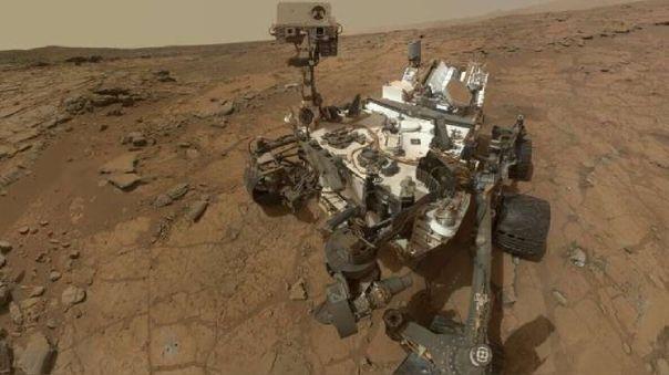 Selfie tomado por el rover Curiosity