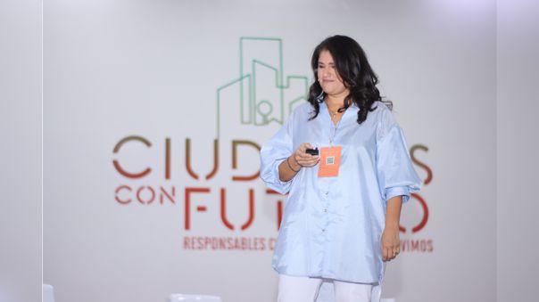 María Paz Cigarán, CEO de Libélula, habló en el foro Ciudades con Futuro de RPP.