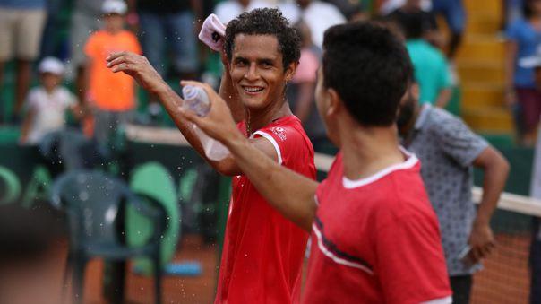 Perú avanzó al Grupo Mundial I de la Copa Davis tras vencer a Suiza