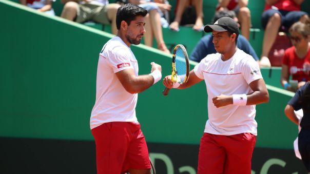 Sergio Galdos y Brian Panta son la pareja de dobles de Perú en la Copa Davis