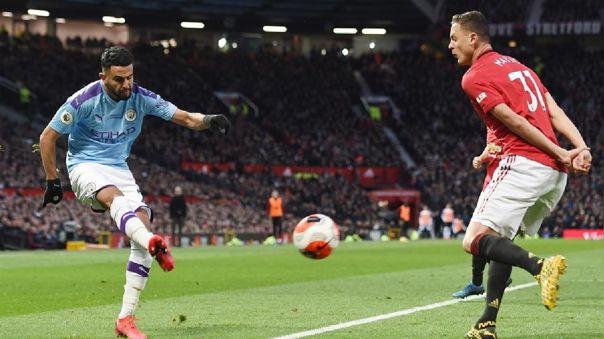 Manchester United venció 2-0 a Manchester City por la Premier League