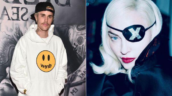 Justin Bieber y Madonna