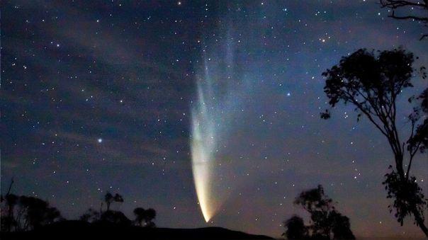 Investigación demuestra los efectos tras el impacto de un cometa en la Tierra. Imagen referencial del cometa C/2006 P1