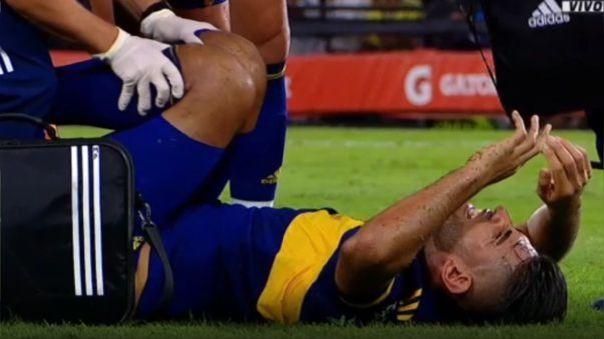 Carlos Zambrano se lesionó ante Gimnasia.