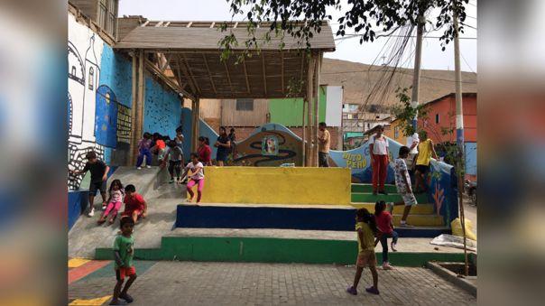Juegos para la primera infancia son muy útiles para que familias usen los espacios.