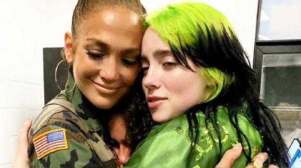 Jennifer Lopez y Billie Eilish