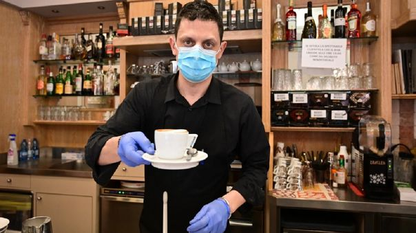 Café en Italia.