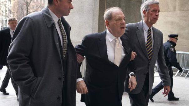 Harvey Weinstein fue condenado a 23 años de prisión
