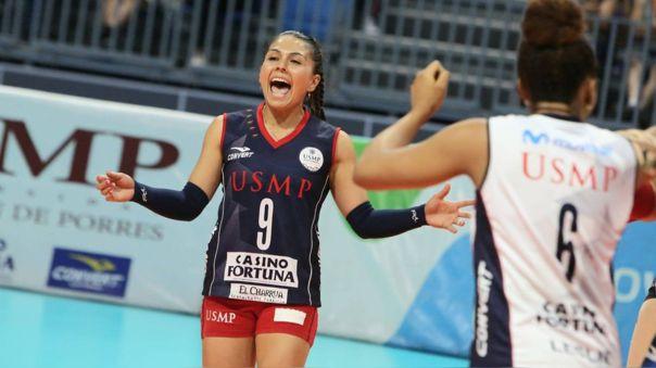 San Martín lidera la Liga Nacional Superior de Voleibol