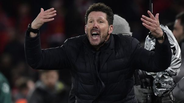 Diego Simeone y el Atlético de Madrid clasificaron a los cuartos de final de la Champions League
