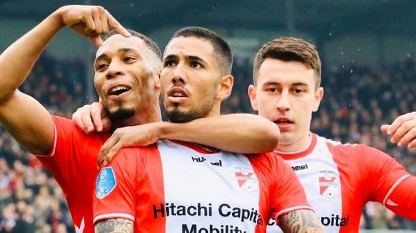 Sergio Peña es una de las principales figuras del FC Emmen de la Eredivisie