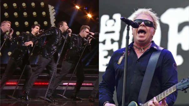 Backstreet Boys y The Offspring