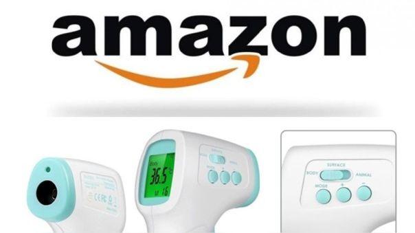 Los precios de los termómetros se inflan en Amazon