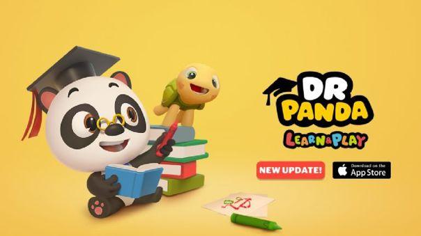 Dr. Panda ofrece acceso gratuito a sus apps en el Play Store, el App Store y el Amazon App Store