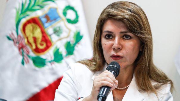 Ministra de Salud, Elizabeth Hinostroza