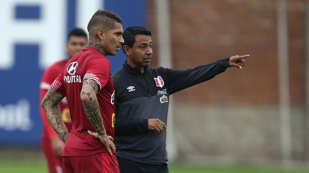 Nolberto Solano es el asistente técnico de Ricardo Gareca en la Selección Peruana