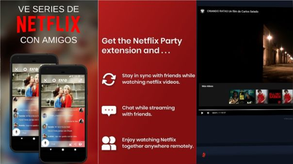 Netflix con amigos