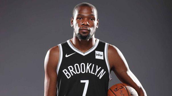 Kevin Durant, de 31 años, es alero de los Brooklyn Nets en la NBA