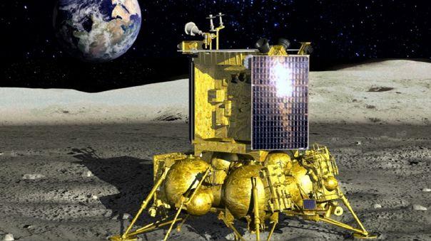 Este es el modelo de Luna-25.